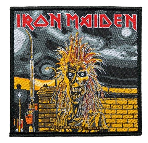 Unbekannt Iron Maiden parche-First Album-Iron