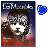 Les Miserables Easy Piano - Eight songs from the musical arranged for easy piano - Klavier Noten mit bunter herzförmiger Notenklammer