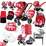 Best Travel Systems - i-Safe System - Bow Dots Trio Travel System Review