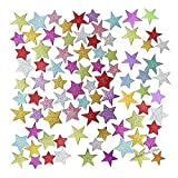 Arts & Crafts Glitter Foam Stickers for Card Decorating, Scrap booking, Card Decorating, School Classroom supplies - Add some shine and sparkle to your crafts and decorations. (2 Packs)