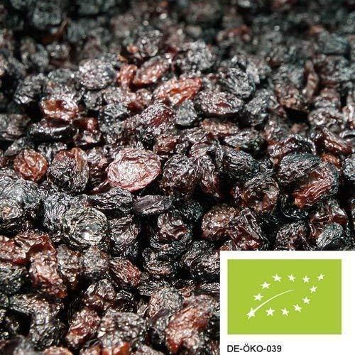 1kg dunkle BIO Weinbeeren getrocknet - aromatische Rosinen in bester Bio-Qualität, ungezuckert und ungeschwefelt
