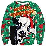 Die besten Weihnachten Jumpers - Goodstoworld Hässlicher Weihnachtspullover 3D Junge Pullover Weihnachten Sweatshirt Bewertungen