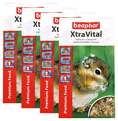 Beaphar XtraVital Chipmunk Food 800 g (pack of 4) 1