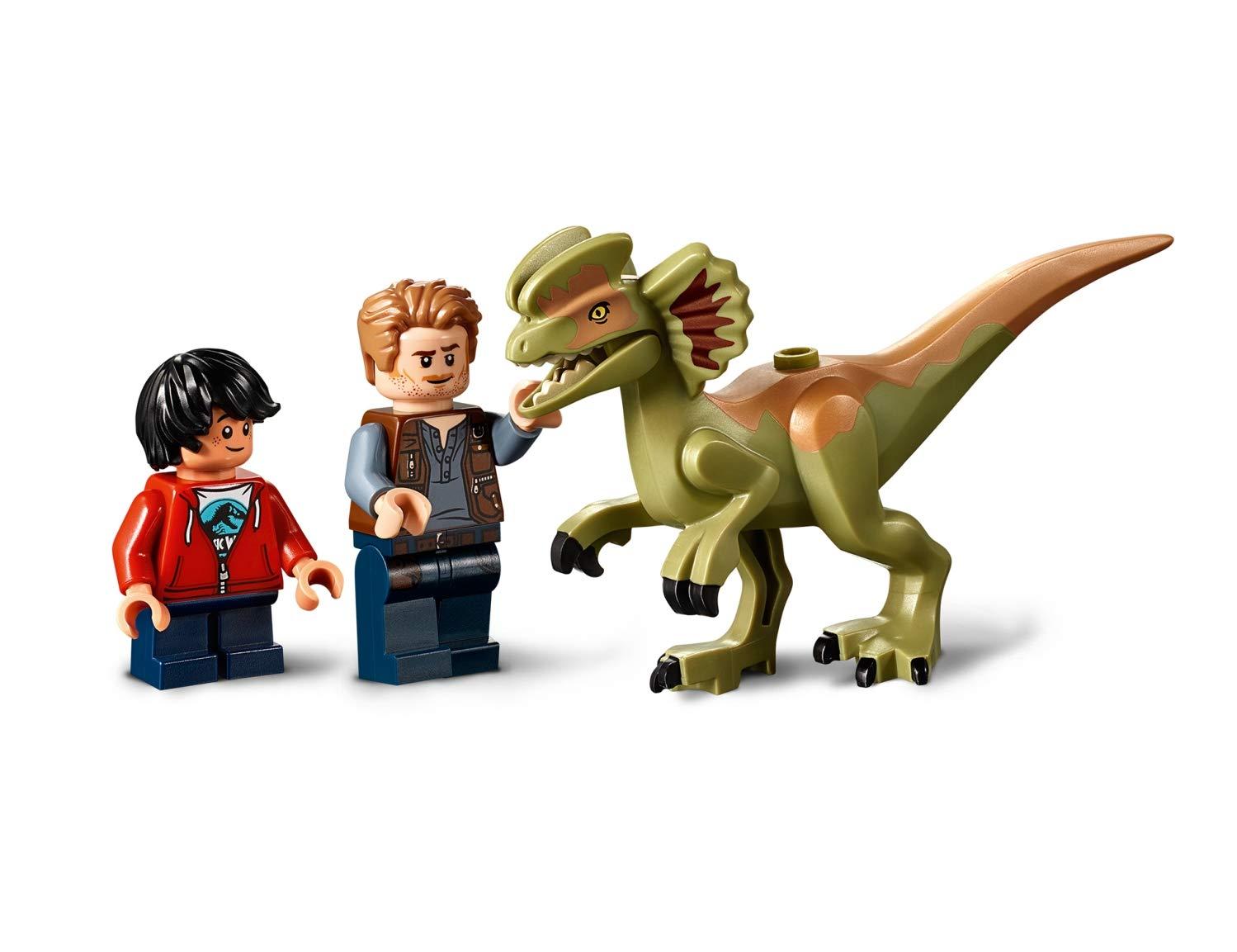 Lego-Jurassic-World-Dilofosauro-in-Fuga-75934