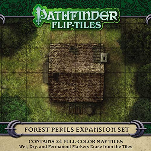 Pathfinder Flip-Tiles: Forest Perils Expansion por Jason A. Engle