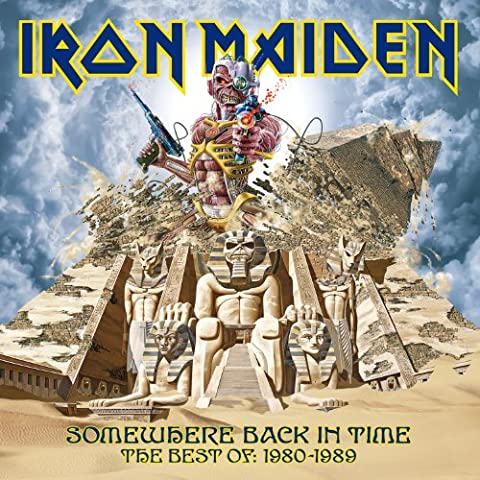 Somewhere Back In Time-The Best Of 1980-1989 [Vinyl LP] - Iron Maiden Somewhere In Time