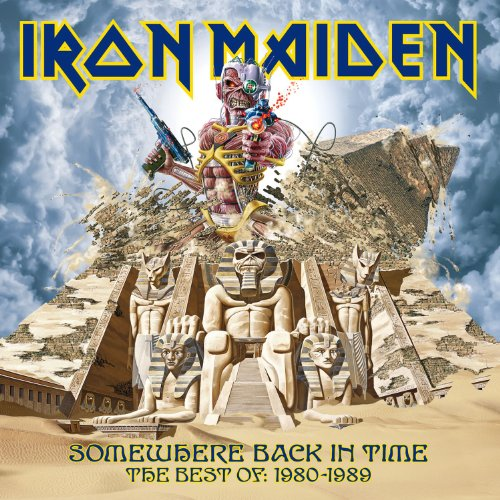 Iron Maiden: Somewhere Back In Time: The Best Of 1980-1989 (Audio CD)