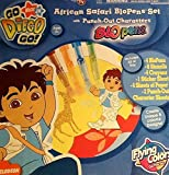 Go Diego Go: African Safari Blopens Set with Punch-Out Characters by Jakks