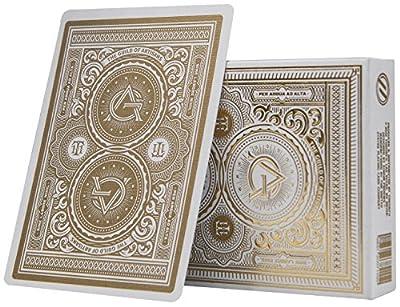 Cartes à jouer par la théorie 11 Artisan blanc | White Artisan Playing Cards by Theory 11