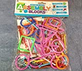 #7: Art Box Stick Puzzle Ideal Activity Challenge for Children Age 3+ for Building Blocks an Educational Game of Making Variety of 3D Model Structures with Numerous Geometry Plug Puzzle Building Blocks