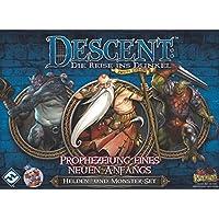 Fantasy-Flight-Games-FFGD1327-Descent-2-Ed-Prophezeiung-Eines-Neuen-Anfangs