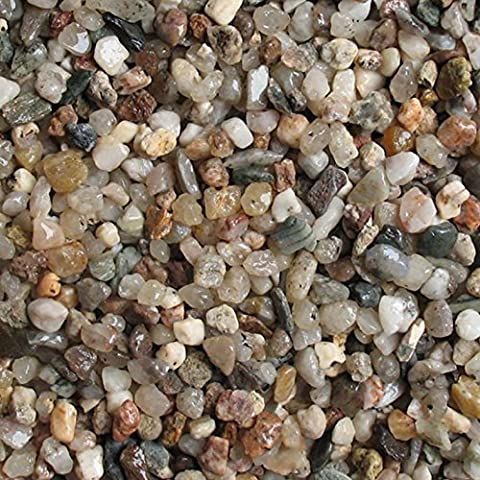 Neutral Light Natural Gravel - Medium Grain, Grain size: 3-5