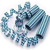 Rakuten Oktoberfest Luftschlangen bayrische Raute 1 Rolle, blau/weiß
