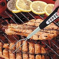 aliciashouse intelligente Griglia Termometro Manzo Turchia carne doppia temperatura sonda lettura istantanea termometro Barbecue Forcella