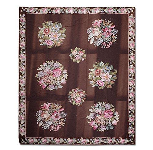 Oriental Rug (Oriental Rug of Houston Oriental Wollteppich orientalischen Aubusson orientalischen Bereich 8x10 Multi)