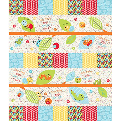 Fabric Editions cotone Bugs Paradise Fusible Kit Applique per