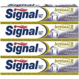 Signal Dentifrice Integral 8 Complet 75ml - Lot de 4
