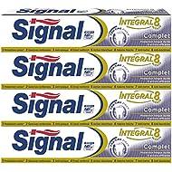 Signal Integral 8 Complet Dentifrice 75 ml - Lot de 4