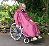 SHEERLINES Coniston Hooded Cape/Poncho for use with Wheelchair/Mobility Scooter