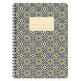 etmamu 520 Notizblock Muster Marokko Nr. 3 A5, 60 Blatt blanko