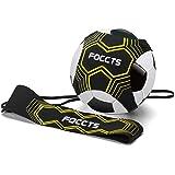 FOCCTS 1set StarKick Trainer Fußball Kick Trainer Gummiband für Fußballtraining Fußball Kick Trainer Solo Fußball Trainer mit Neopren Gürtel für Kinder