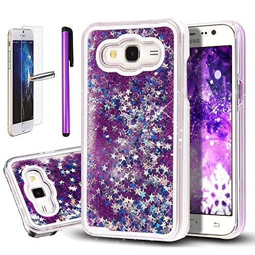 samsung-galaxy-j5-j500-custodia-samsung-galaxy-j5-samsung-galaxy-j5-2015-case-newstars-glitter-trasp