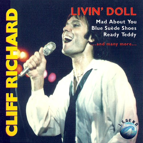 Richard, Cliff (CD Album, 16 Titel) Mad About You / Never Mind / Mean Woman Blues / That'll Be The Day / Mean Streak / High Class Baby / Blue Suede Shoes / Ready Teddy / My Feet Hit The Ground / Livin' Doll / Travellin' Light / I'm Walking u.a.