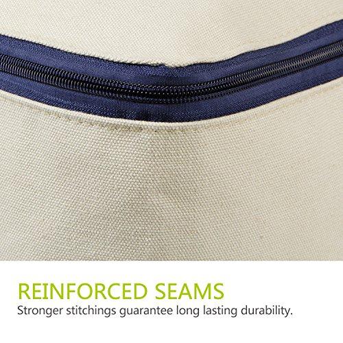 vente lifewit sac de rangement housse en tissu pliable taille ultra pour literie couette. Black Bedroom Furniture Sets. Home Design Ideas