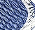 Friedola Tischdecke blau 130 cm 20061 von Friedola - Gartenmöbel von Du und Dein Garten