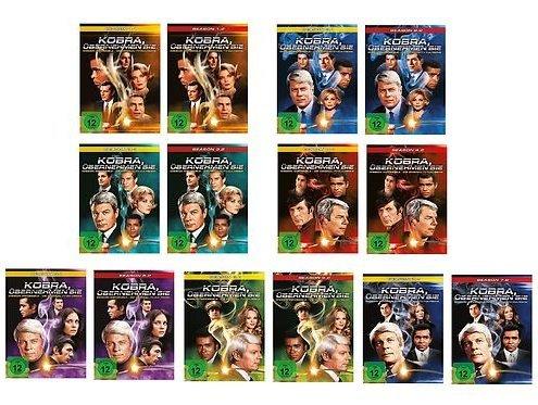 Season 1-7 (46 DVDs)