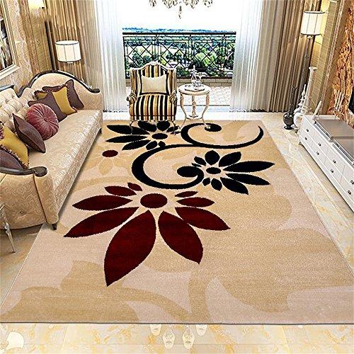 Alfombra de diseño Moderno Minimalista Sala de estar Mesa de centro Sofá Sala de estudio Dormitorio Alfombra grande ( Tamaño : 82*122cm )