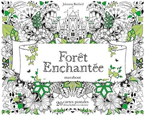Cartes postales forêt enchantée par Collectif
