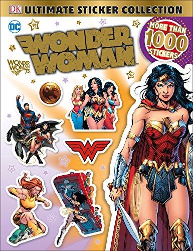 Ultimate Sticker Collection: DC Comics Wonder Woman (Ultimate Sticker Collections) por Dk