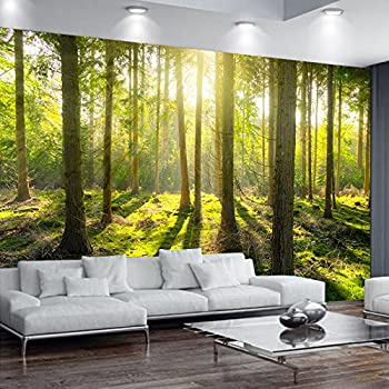 green tree plant wall mural forest photo picture wallpaper bedroomgreen tree plant wall mural forest photo picture wallpaper bedroom decoration