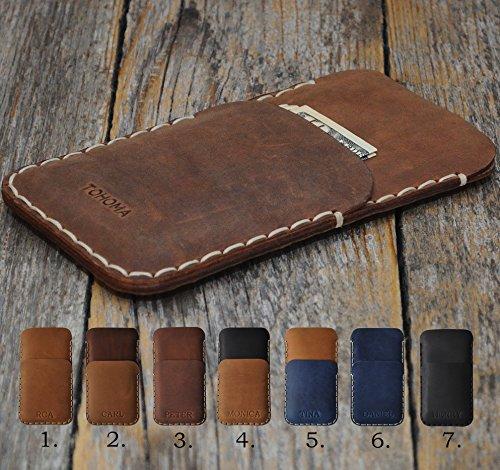 Cover per Xiaomi Personalizzata Portafogli con taschino per carta di credito Pelle bovina Cover in (Tipo Taschino)