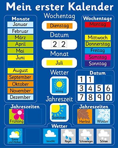 Fridge Magic Mein erster Kalender. 40 x 30cm Magnetisch