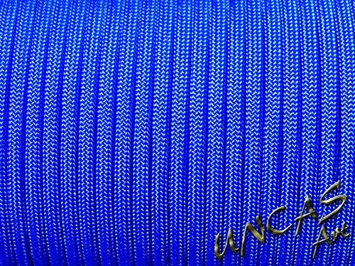Original bracelet en paracorde 550 tYPE 3–30 m corde couleur : bleu électrique