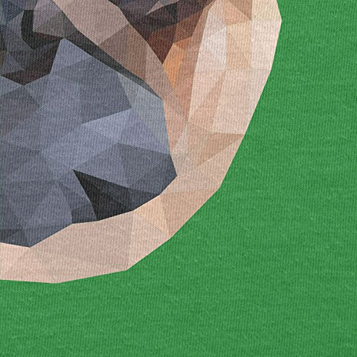 Texlab–Poly Pug Face–sacchetto di stoffa Verde