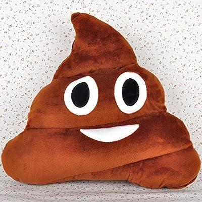 Cute Emoticon Emoji Poo Pillows Cushion Stuffed Toy Home Decor Poo Shape