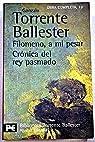 Filomeno, a mi pesar. Crónica del rey pasmado par Torrente Ballester