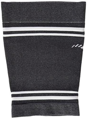 Medilast Black Edition–Oberschenkelbandage Unisex, weiß/schwarz L weiß/schwarz