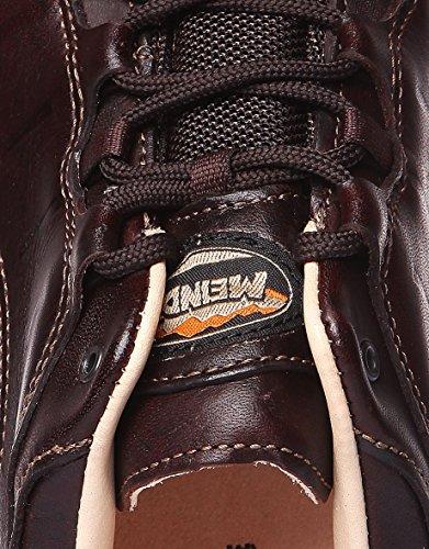 Meindl Schuhe Ascona Identity Men–Chaussures homme Marron foncé 44