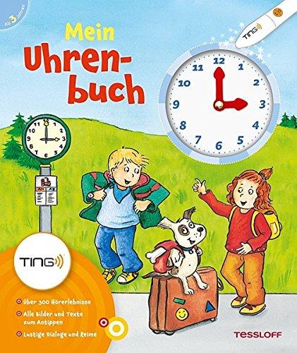 Produktbild bei Amazon - Mein Uhrenbuch: Uhr und Uhrzeit lernen (Antippen, Spielen, Lernen!)