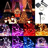 Pegasus 13M 120LED Outdoor Solar Power Sliver String Fairy Light Wedding Party Xmas Garden Lamp IP67