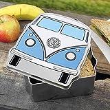 Offizielle Volkswagen Campervan Lunch Tin - Blau Campervan Metall Lunch Box