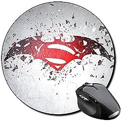 Batman V Superman Dawn Of Justice B Alfombrilla Redonda Round Mousepad PC