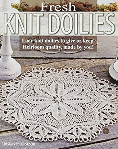 Leisure Arts Fresh Knit Doilies