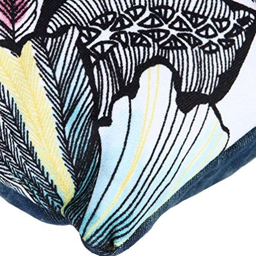 Chang Spent Crossbody tendenza denim tela gnocchi donne Cartella , blue Blue