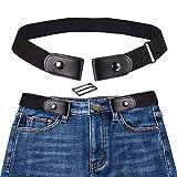 Cintura Donna Elastica Senza Fibbia,Pantaloni dei Jeans Cintura Invisibile Regolabile,Cintura Elastica Senza Fibbia per Uomo Donna, Senza Fibbia Cintura Invisibile per Pantaloni Jeans