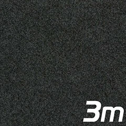Anthracite Acoustic Subwoofer Box Carpet 3m x 1.35m